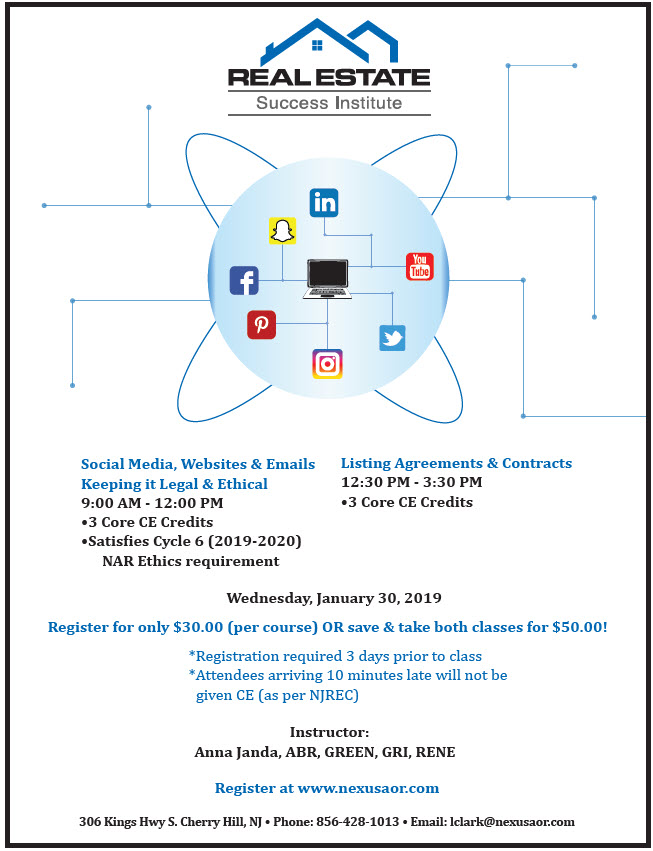 Jan 30 Social Media and LA and Contracts